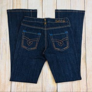 New SWITCH USA Bootcut Flare Denim Jeans